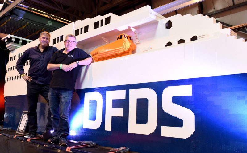 8764392e74c Huge cruise-liner made of Lego stuns toy fanatics - Caters News Agency