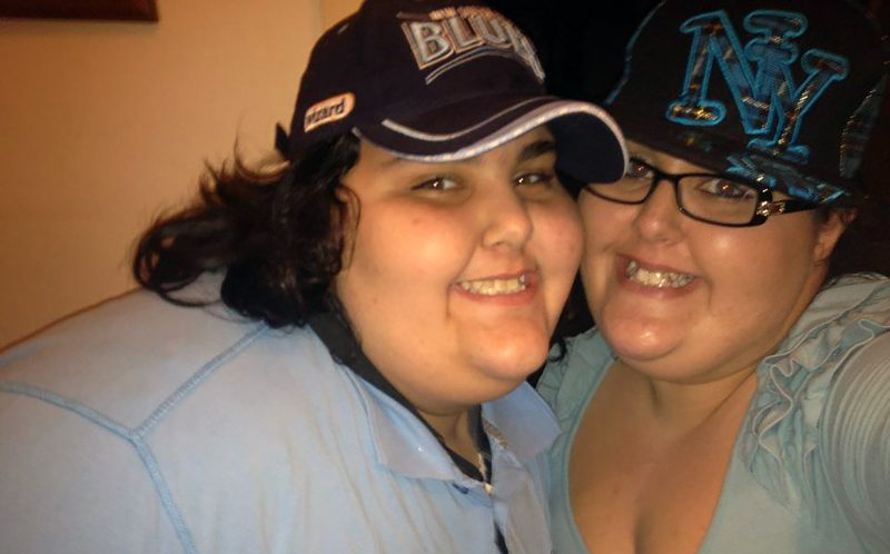 Pic from Caters News - (Pictured: Annabelle and Anastasia) Two morbidly obese sisters have lost a staggering 162KGS in the last year after making a slimming pact together, and incredibly theyre STILL SHRINKING.Annabelle Chiarello, 16, and her sister Anastasia, 24 from Montaray, NSW, both battled with the bulge their entire lives, with the teenager wearing 7XL shirts at her heaviest and her sister squeezing into a size 26. The incredibly close siblings grew up gorging on giant triple portions of pasta and bread, causing their waistlines to stretch to huge proportions. At just 13, Belle tipped the scales at an eye-watering 248kilos, and doctors warned she needed to lose weight or die, and recommended having a gastric sleeve (VSG) fitted. SEE CATERS COPY