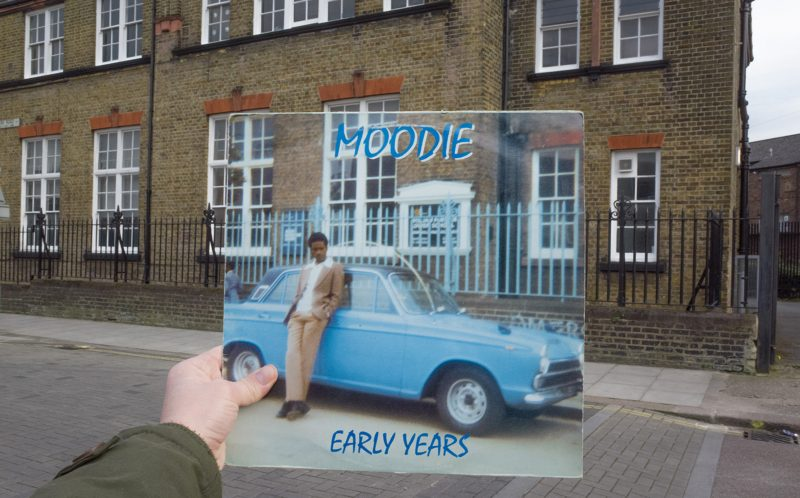 PIC BY ALEX BARTSCH / CATERS NEWS - Moodie, Early Years, Moodie Music, 1974.