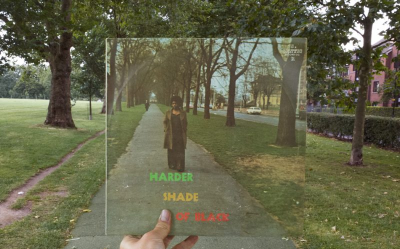 PIC BY ALEX BARTSCH / CATERS NEWS - Harder Shade of Black, Santic, 1974.