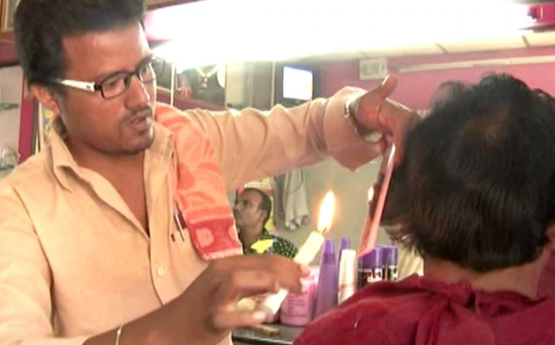 CANDLE BARBER