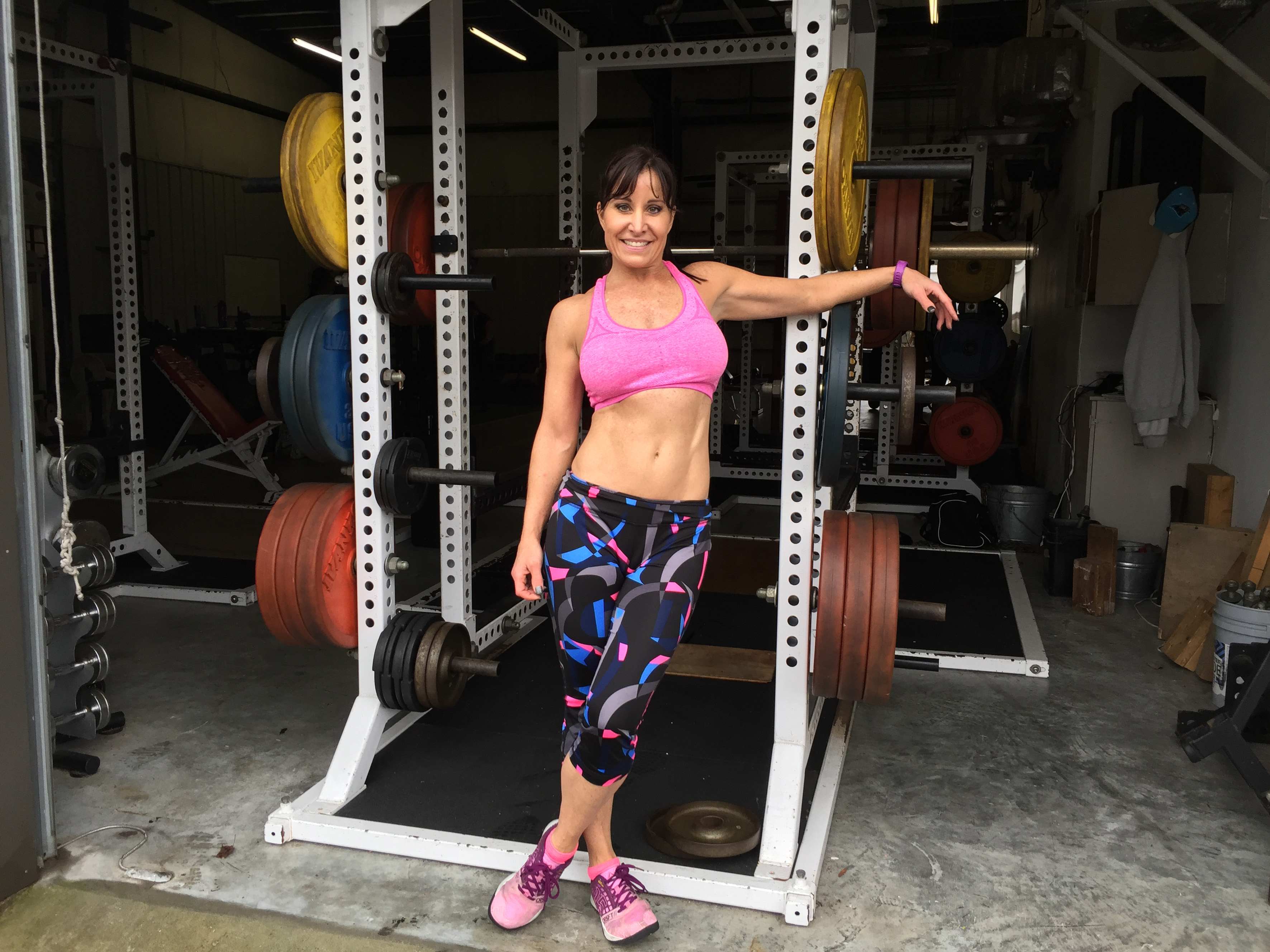 Fit ab fab at fifty! She reveals secret to rock hard abs