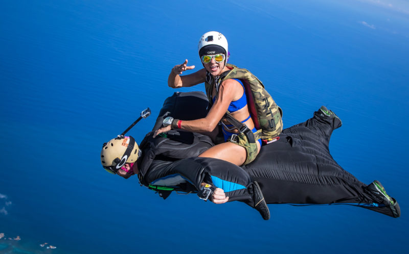 Daredevils Perform Wingsuit Rodeo Above The Cloud Because Skydiving Is Too Easy