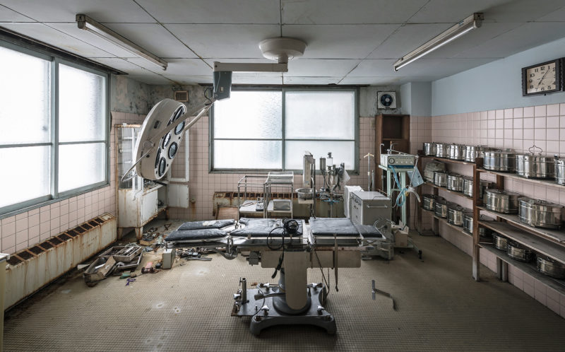 Creepy Clinic Eerie Photographs Reveal The Abandoned