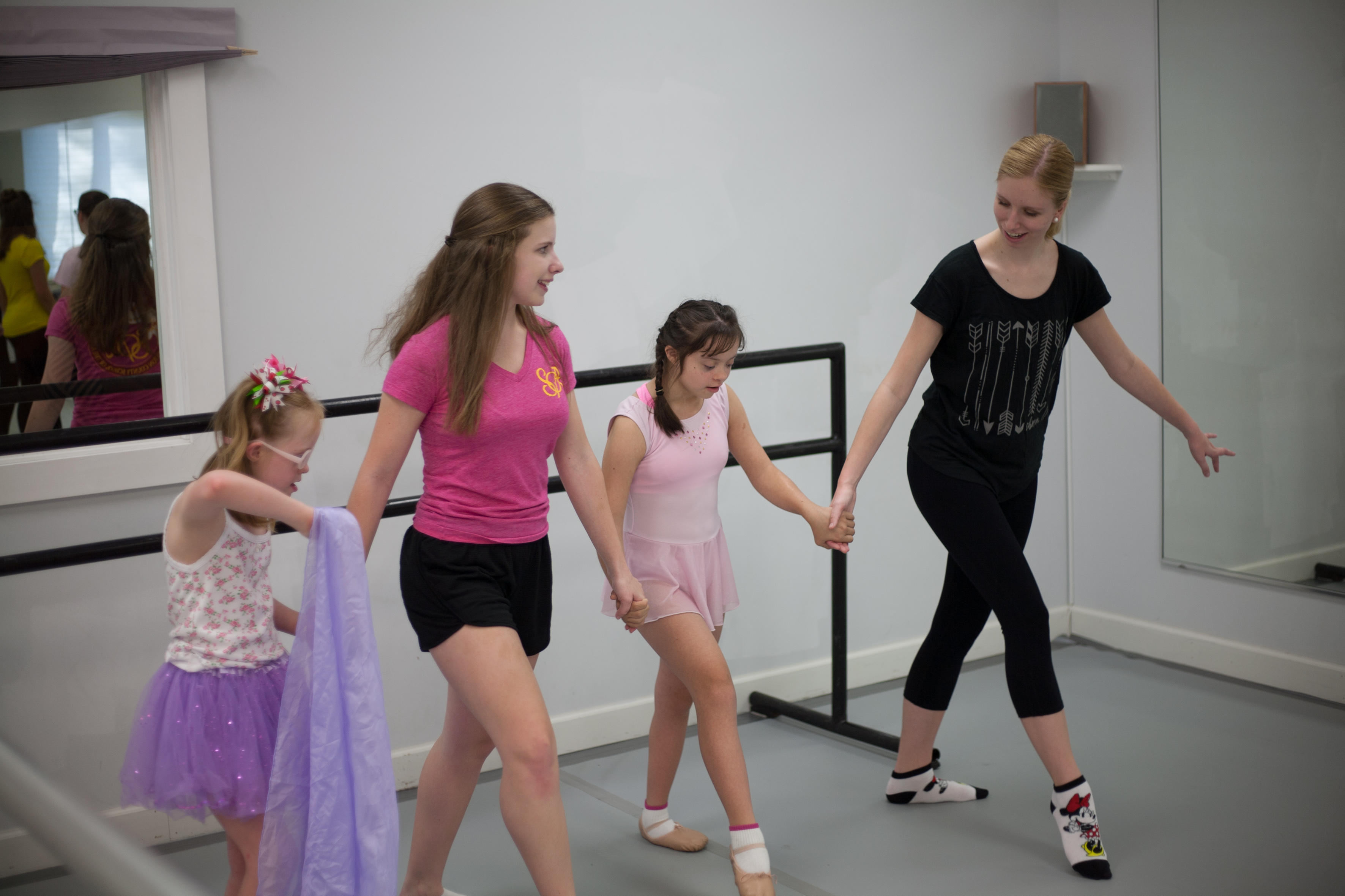 kids with down syndrome get free ballet classes and its