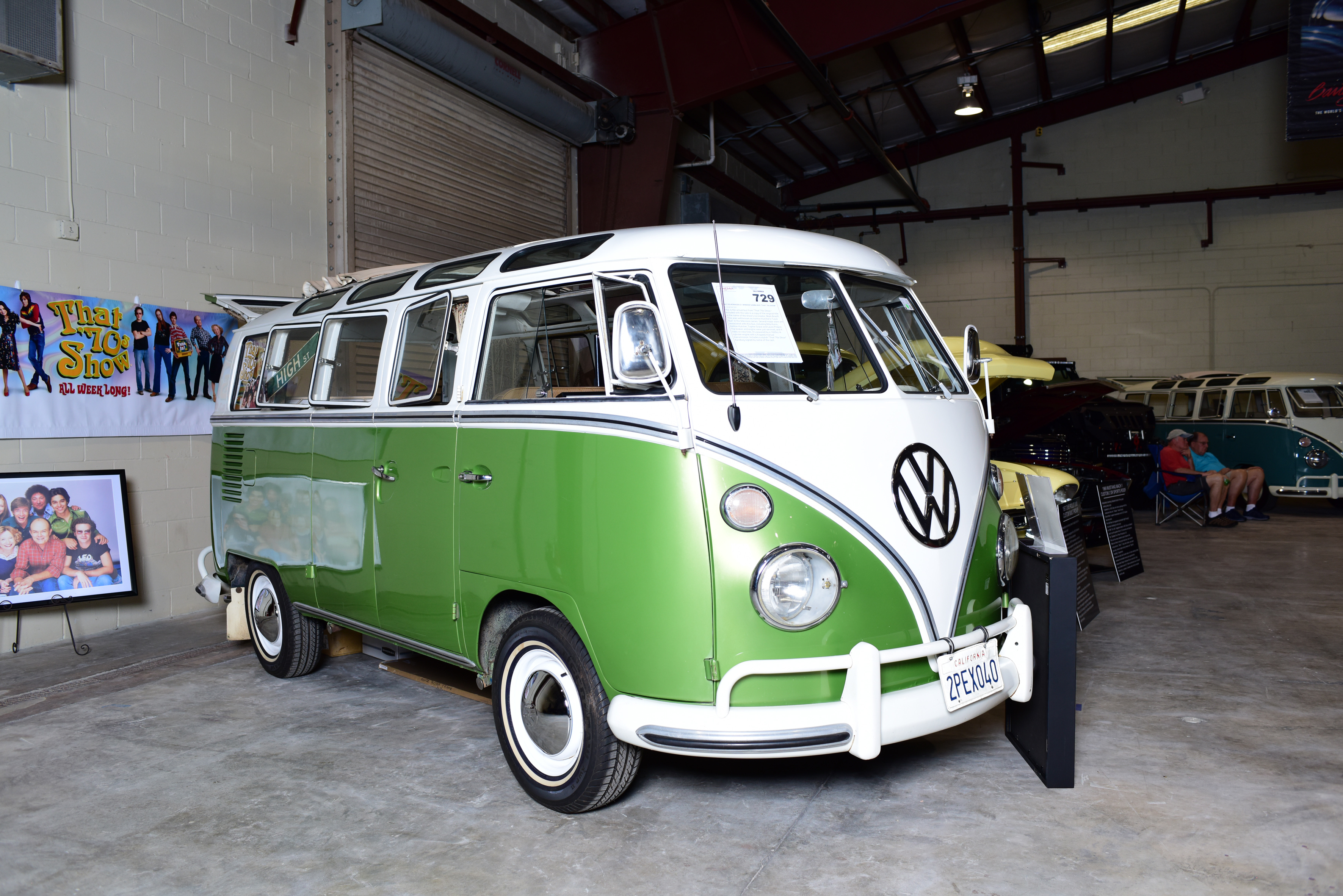 1e18f4ce62 Rare  love wagon  camper van from tv hit  That 70 s Show  could break world  record for most expensive Volkswagen ever sold! - Caters News Agency