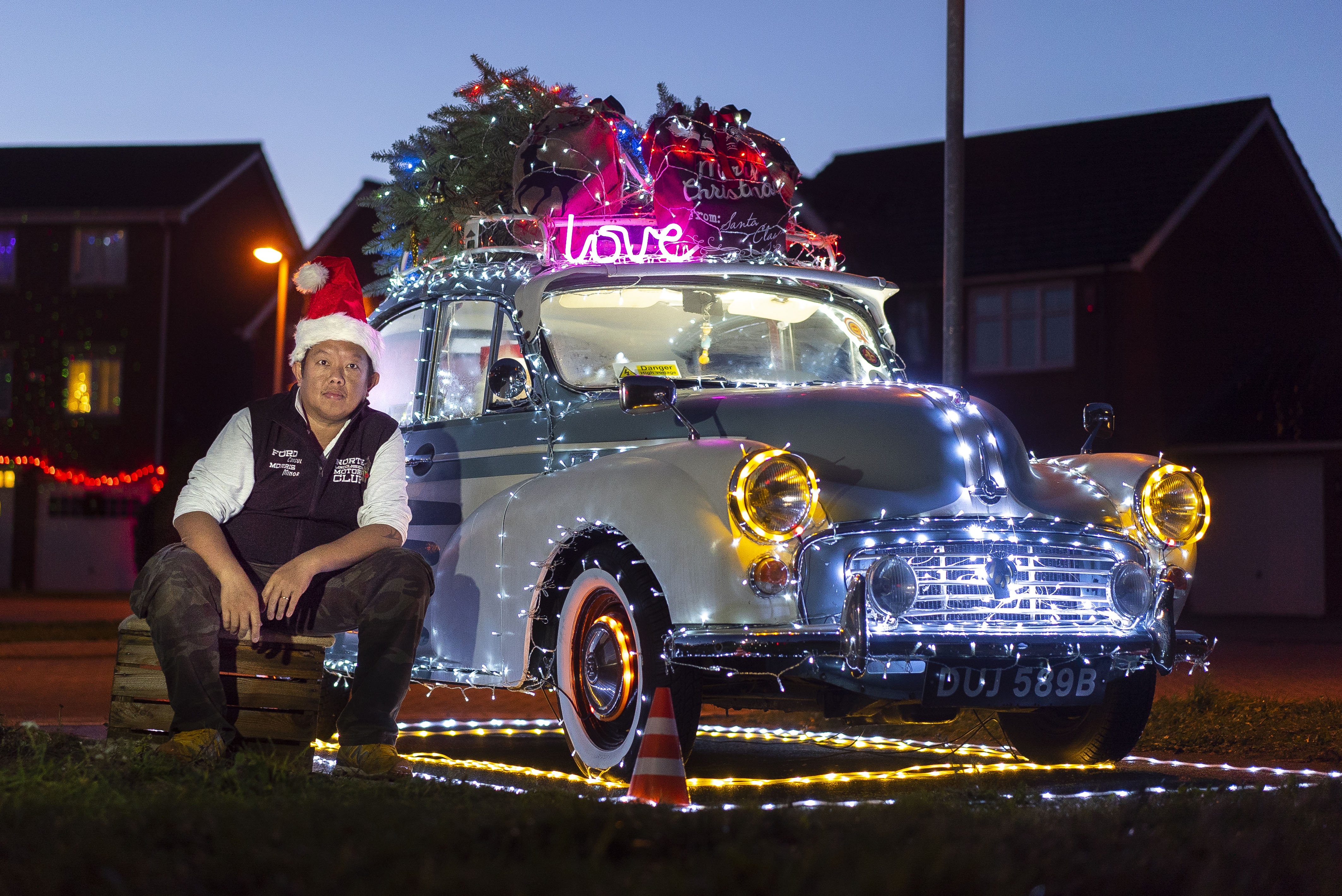 Man Inspired By Iconic Coca Cola Christmas Truck Covers
